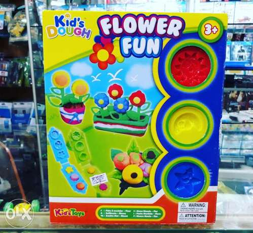Flower fun kids dough