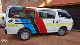 Toyota Hiace (14 seater) for sale