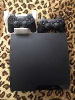Ps3 bundle with 2 Remotes and 6 Games