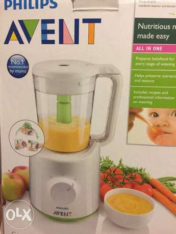 steamer & blender avent