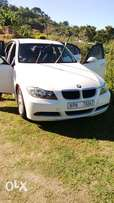 E90i white auto transmissin owned by a lady in Pinetown