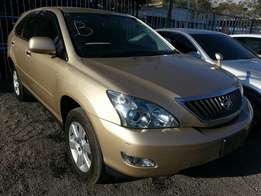 Newly arrived beige colour Toyota harrier