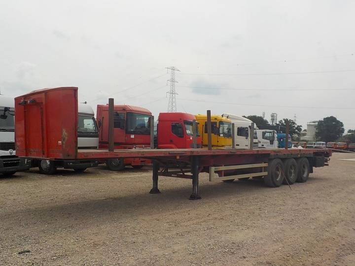 Royen  S37T/3P (BPW-axles / DRUM BRAKES / FREINS TAMBOUR) - 1998