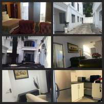 Fully furnished apartments to let.