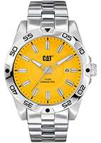 Never worn CAT Yellow Dial Stainless Steel Watch