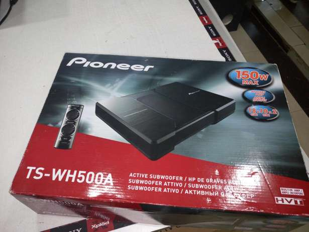 Pioneer TS-WH500A POWERED Underseat subwoofer brand new in shop Nairobi CBD - image 3