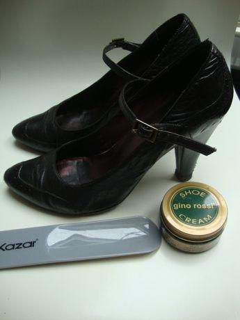 aa299bcc671ca Czółenka Gino Rossi pantofle 37 buty damskie obcas 10 cm Szczecin - image 2
