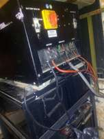 5kva Sukam inverter with 8 batteries and the stand for N280,000