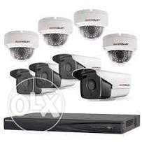 8 Channel Long Range complete kit Security Systems installation