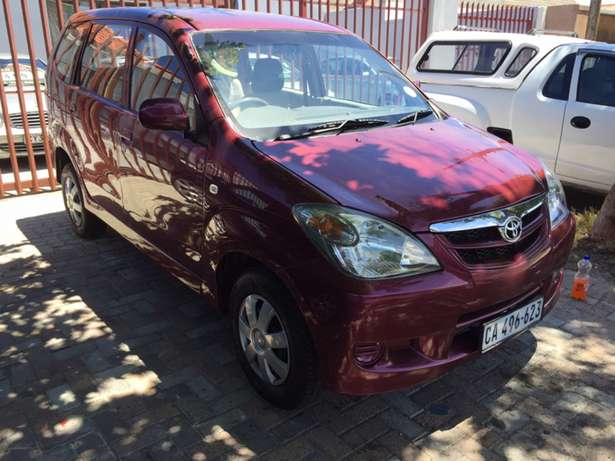 2007 Toyota avanza 1.5 sx 7 seater for sale Ottery - image 1