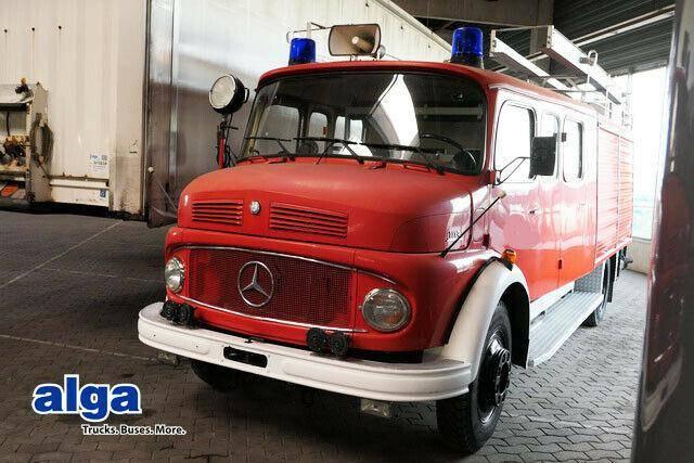 Mercedes-Benz LF 1113 B, Feuerwehr, Ziegler FP 16/8, DoKa! - 1979