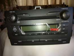 Brand new Toyota radio deck
