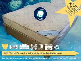 FREE Delivery , Quality Double & Queen Bed Sets from R 2200