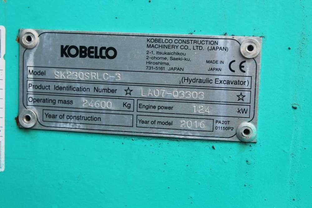 Kobelco Sk 230 Srlc-3 / Puskulevy - 2016 for sale | Tradus