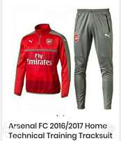 Brand new Arsenal FC home technical training tracksuit