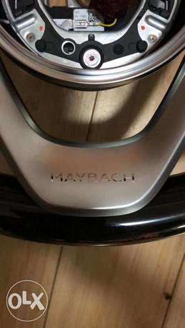 طاره مايباخ Maybach steering wheel