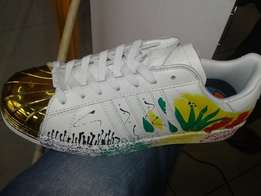 adidas graffiti rasta colours shoes