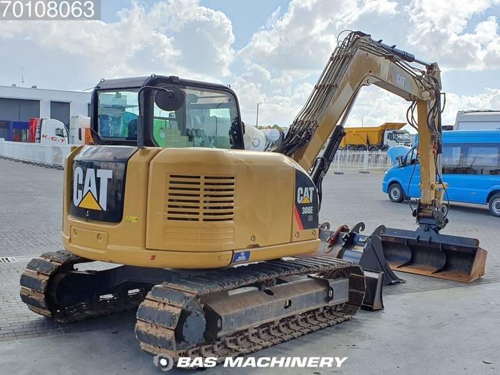Caterpillar 308E 3 buckets - German dealer machine - 2012 - image 17