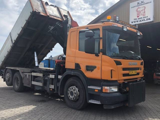Scania P310 + Kran + Tip ( 6x2 ) - 2005