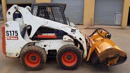 Grass Cutter Bobcat Attachment