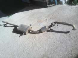 Mercedes Benz 180CDI W169 A Class Exhaust System Stainless - Complete