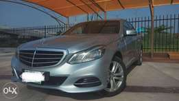 Registered 2014 Mercedes Benz E200 bought brand new
