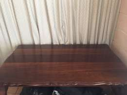 wooden lions claw table/desk