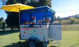 Mobile Bubble Tea Party Buggy Available