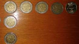 R5 and R2 coins for sale