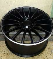 "19"" Matte black rim for Mercedes, Mark X, Alphard, Harrier, Raz4"