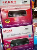 Sonar brand new free to air decoder