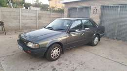 mazda 323 with only 140000km