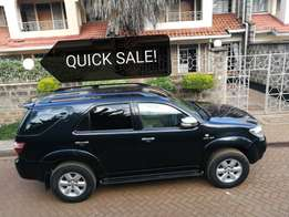 Toyota Fortuner, 2008 Automatic