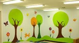 Interior Art painting and decoration