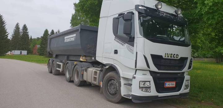 Iveco Stralis As440s57 Pt Hydrauliikalla+ppv Sora - 2018