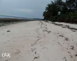 Nyali beach plot for sale