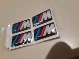 ** BMW M Decals for Rims /steering / Interior **