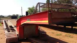 2004 Martin 4 Axle Hydraulic Clipneck Lowbed Trailer for sale