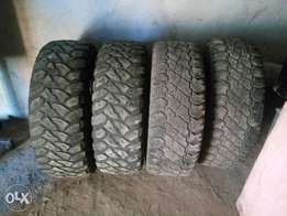 Tyres size 285/75/16