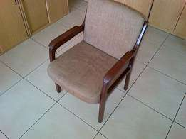 Quality Solid Office or Home Chairs Wooden Antique