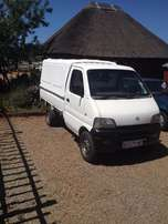 chana bakkie with canopy