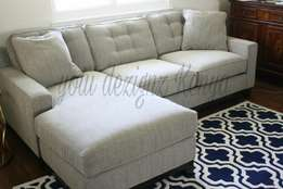5 seater contemporary L couch