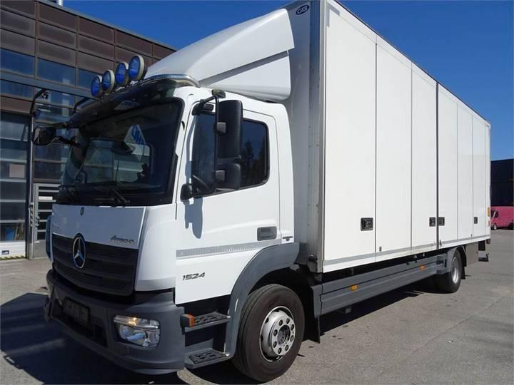 Mercedes-Benz Atego 1524l - Kokosivuaukeva+pl - 2015