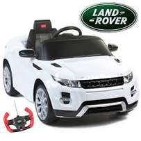12V White Evoque ride on car-Licensed (Spoil him/her now!)
