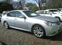 New Arrival of Silver2 Nissan Fuga,2500cc,2009 Model,Petrol Automatic