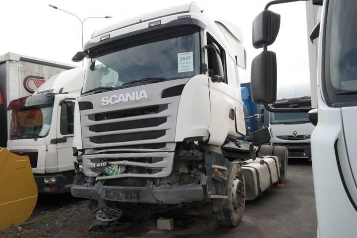 Scania R410 LA 4x2 RETARDÉR EURO 6 po nehodě - 2014