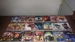 PS3 Games in Boxes
