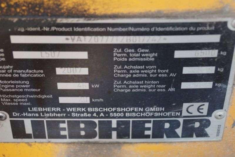 Liebherr L 507 Stereo Klappschaufel Kehrbesen - 2007 - image 8