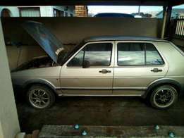 Jumbo Golf GTI breaking up for spares