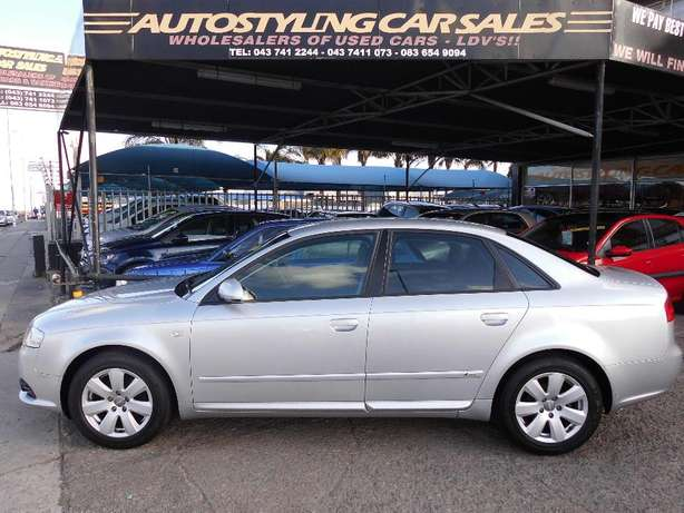 Autostyling Car Sales-East London-07 Audi A4 2.0L S/Line only R99995 ! East London - image 1